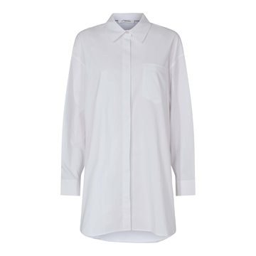 Co Couture Hannah Midi Shirt - White