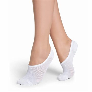 Decoy Footies, 5 pack - Hvid