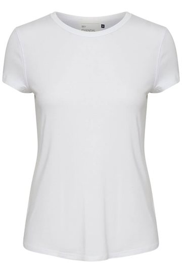 Denim Hunter The Modal Tee - White